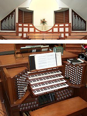 Ebenezer Baptist, New Horizons Sanctuary organ