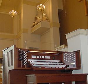 Jasper First Baptist combo organ