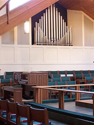 St Catherine Episcopal combination organ